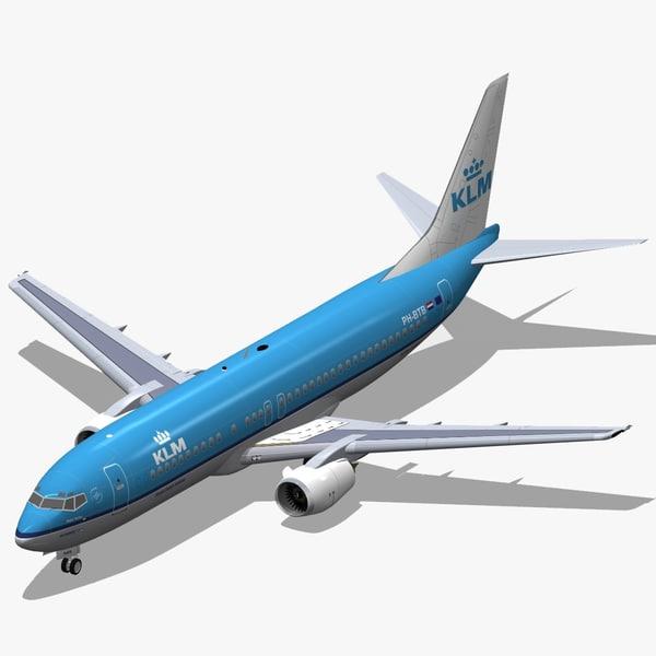 max b 737-400 klm