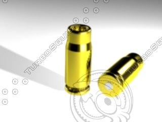 bullet shell 3d 3ds
