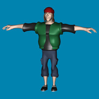 character-republic character 3d 3ds