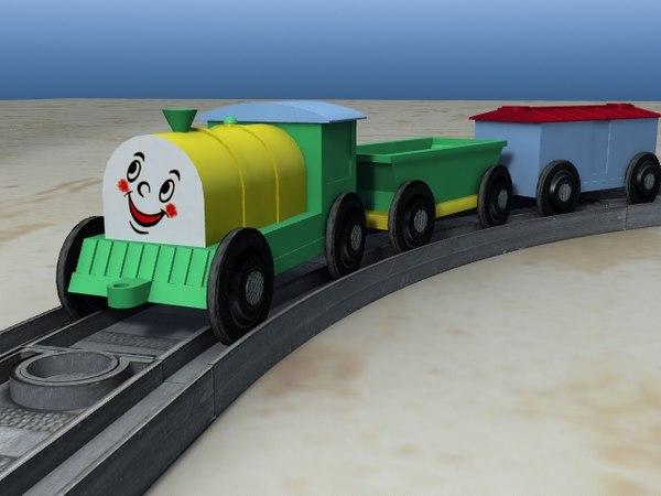 child toy train null lwo