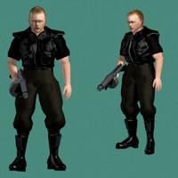 3d joe swat model