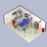 3dsmax operating room