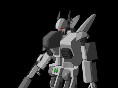 robot bot 3d lwo