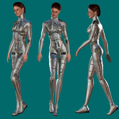 3dsmax human woman female