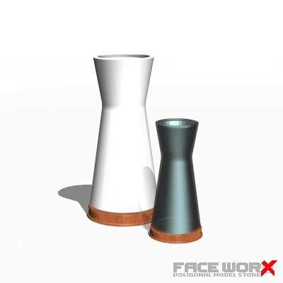 3d model lamp table