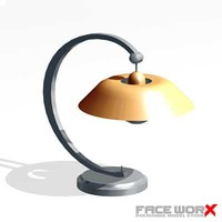 lamp table 3d max