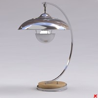 3d lamp table