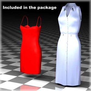 3d clothing female body