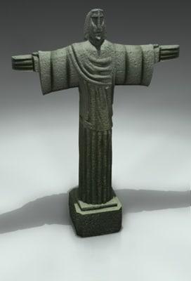 3d model of statue
