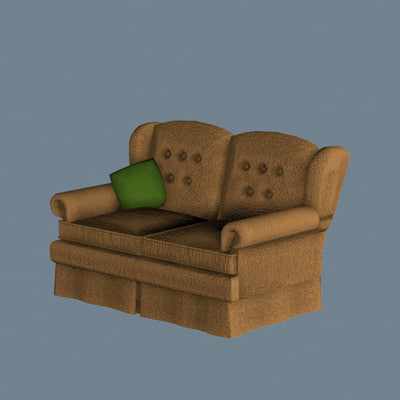 3d model of imagination works furniture