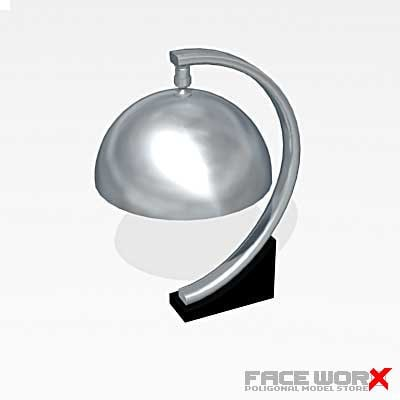lamp table 3d model