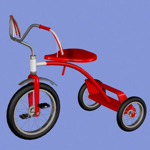 3d tricycle cycle