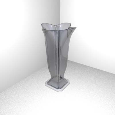 vase flower glass 3d dxf