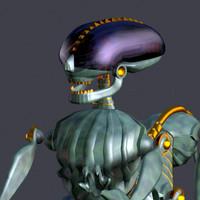 works aliens robots 3ds