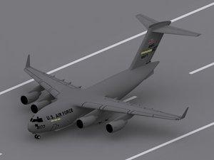 3ds max c-17 globemaster iii