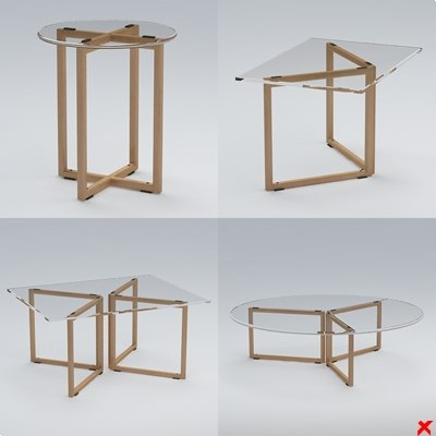 3dsmax glass tables