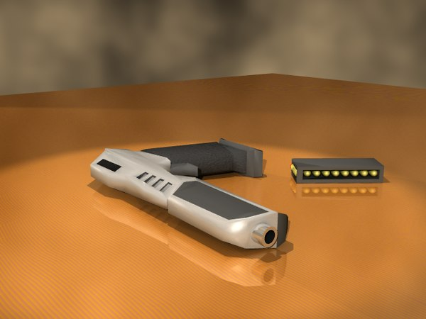 lwo pistol bullet