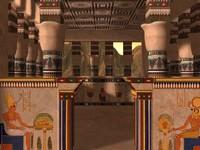 temple architecture ruins 3d model