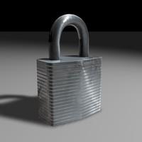 Pad Lock.c4d