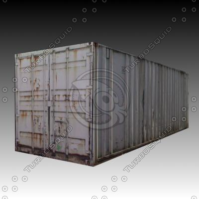 3d model site containers