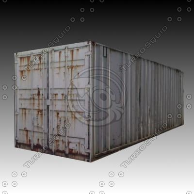site containers 3d max