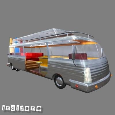 3d bus surf model