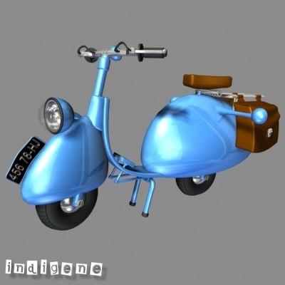scooter fantasy fun 3d max