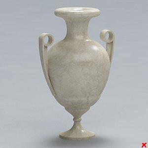 urn vase 3d model