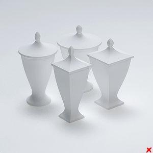 free urn 3d model