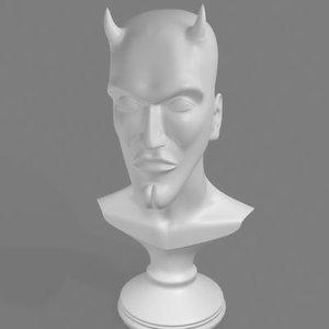 busts devil 3d model