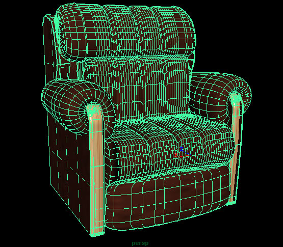 lazyboy chair recline 3d model