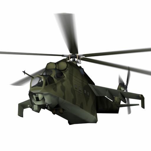 3d model warsaw mi-24 hind d