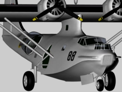 consolidated catalina c4d
