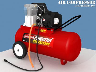 3d air compressor aircompressor