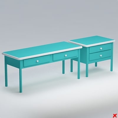 table set 3ds free