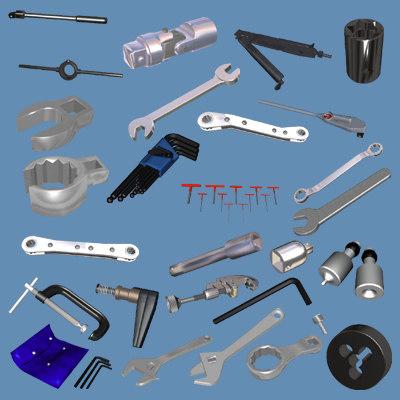 maya maintenance hand tools