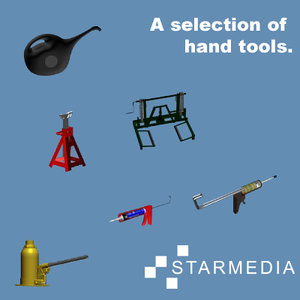 3ds max maintenance hand tools