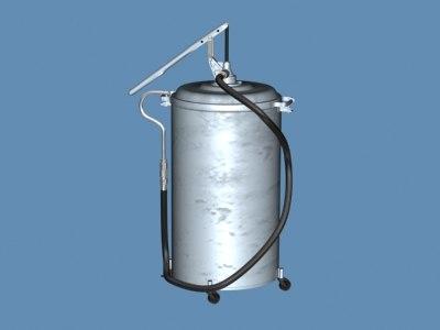 3d oil 3 oilcan003