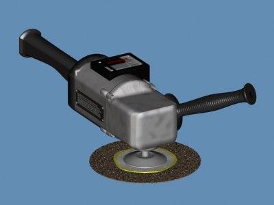 hand grinder 3d model