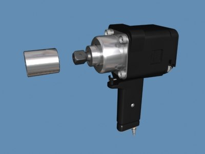 impact wrench 3d max