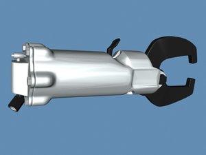 rivet compression 3d max