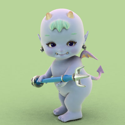 devil baby 3d model