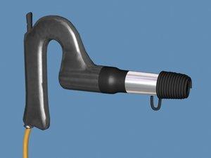 rivet gun pistolgrip longstroke 3d model