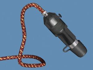 3dsmax rivet gun light