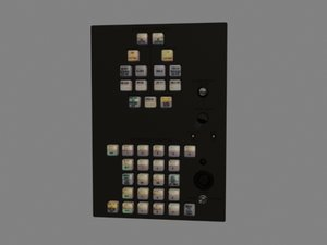 max radar switch control panel