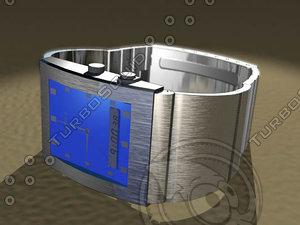 3d accu2 wrist watch