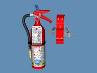 3d model fireextinguisher bracket