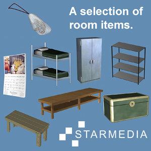 max room items