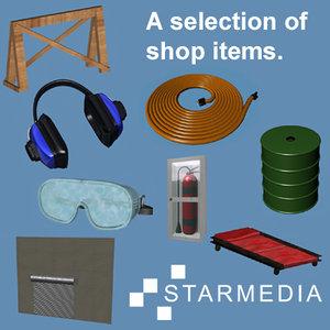 3dsmax shop items