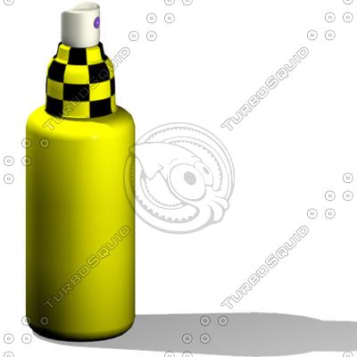 3dsmax spray bottle